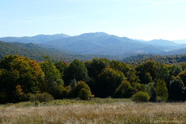 Widok na okolice Tarnicy