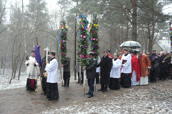 Muzeum Wsi Radomskiej - obchody Niedzieli Palmowej