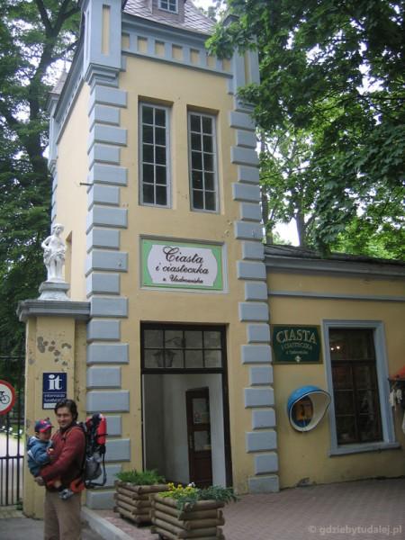 Park Zdrojowy w Nałęczowie - wchodzimy.