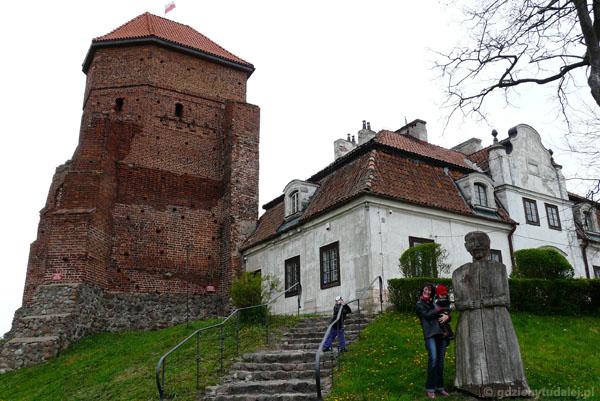 Wycieczka do Liwu, zamek ks. mazowieckich, XV w.
