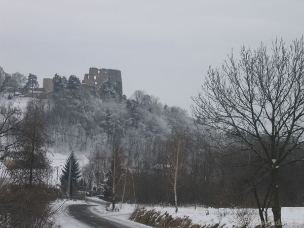 Zamek Kamieniec k. Odrzykonia.