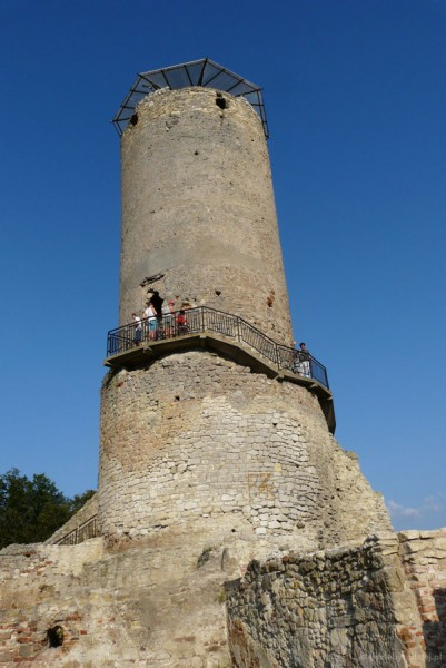 Iłża-ruiny zamku z XIV w.