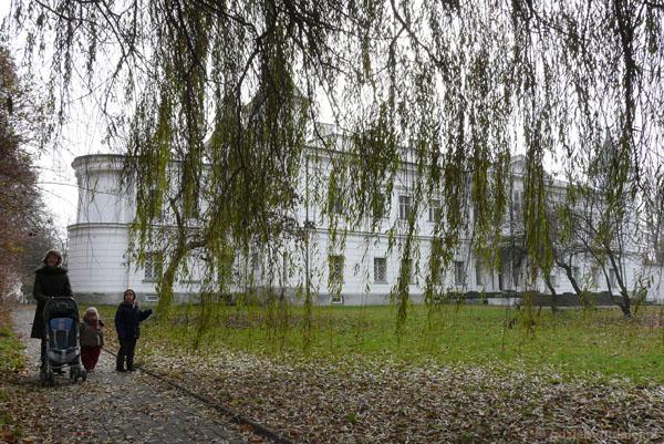 Pałac w Falentach, kon. XVIII w.