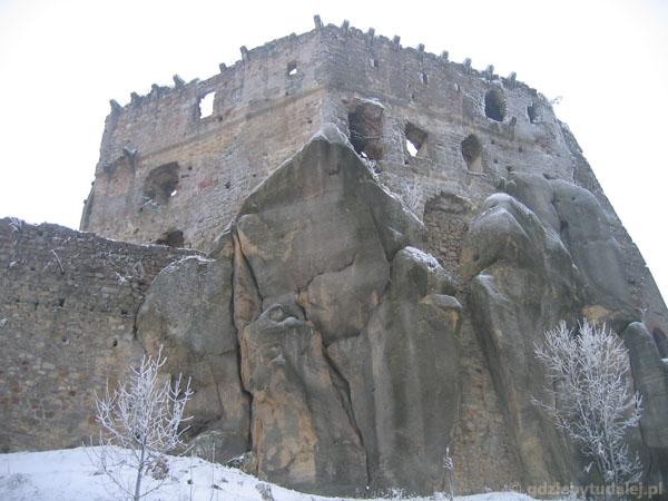 Ruiny Zamku Kamieniec.