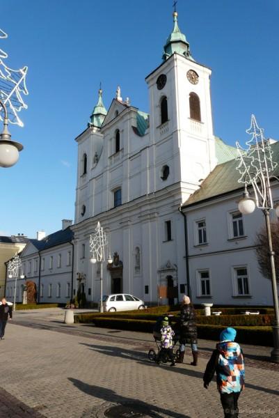 Kościół św. Krzyża (XVII), proj. Tylmana z Garmen.