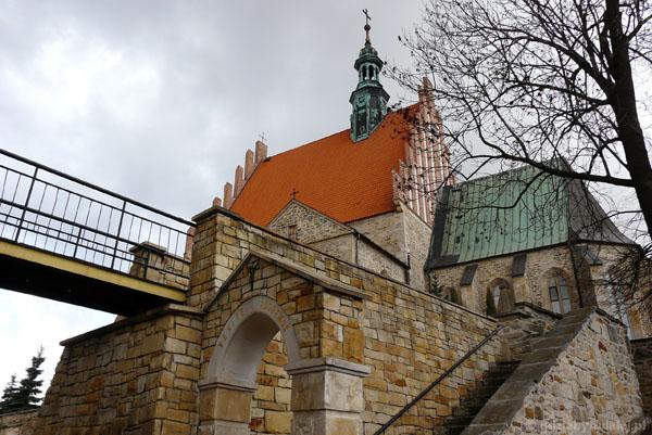 Późnogotycki kościół Św. Zygmunta, XV-XVI, Szydłowiec