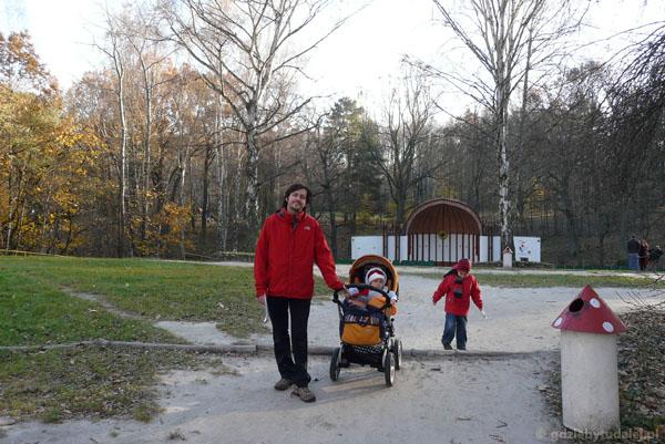 Park Kultury w Powsinie.