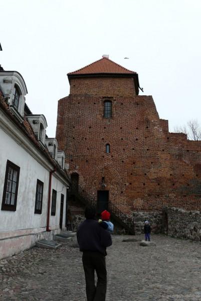 Na wieżę liwskiego zamku
