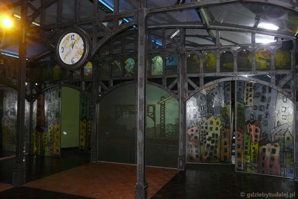 Zaczarowany dworzec w Pacanowie