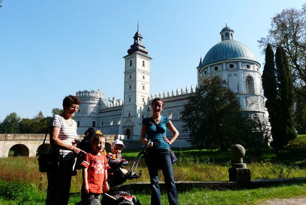 Zamek w Krasiczynie, XVI w.