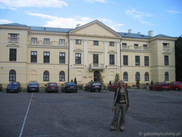 Pałac barokowo-klasycystyczny, pocz. XVII w.
