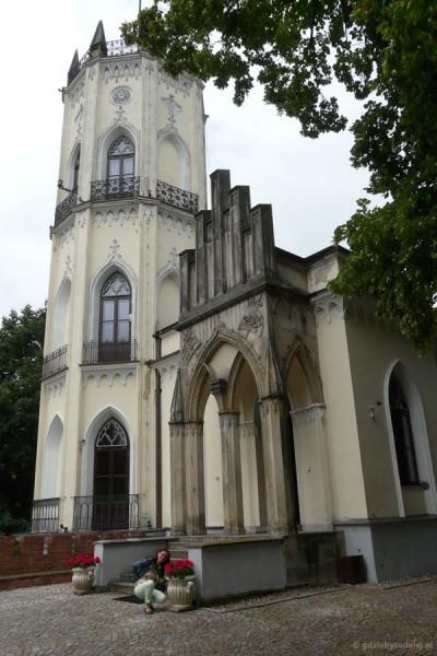 Neogotycki zameczek Krasińskich, XIX w.