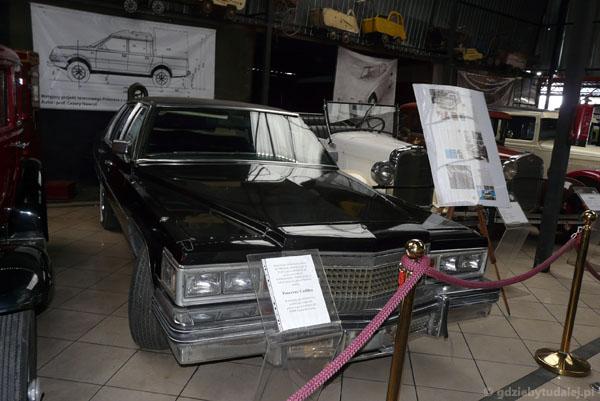 Pancerny Cadillac PRL-owskich oficjeli.