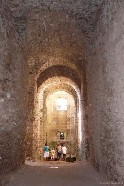 Zamek Krzyżtopór (XVIII), Ujazd