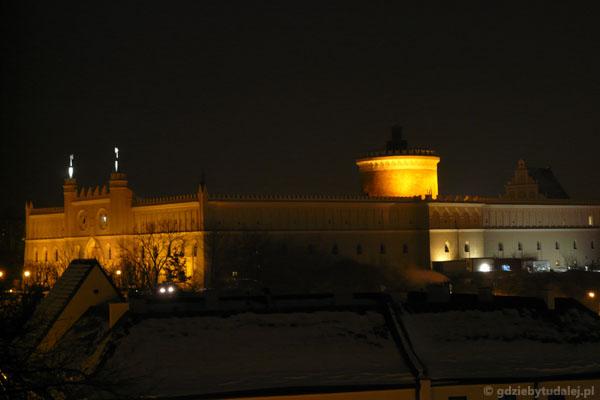 Zamek (XIV, przeb. XIX)