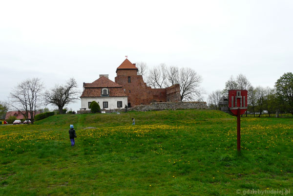 Zamek od strony Liwca