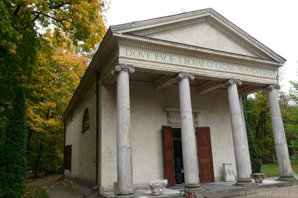 Świątynia Diany (2. poł. XVIII w).