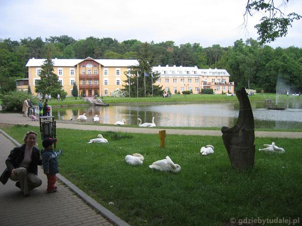 Park Zdrojowy w Nałęczowie.