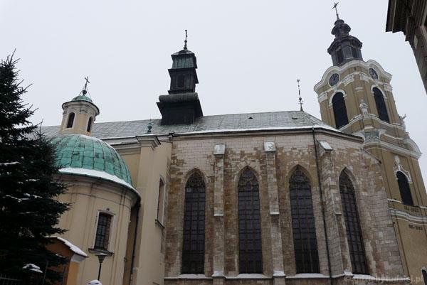 Przemyska katedra (XV, przeb. XVIII, XIX).