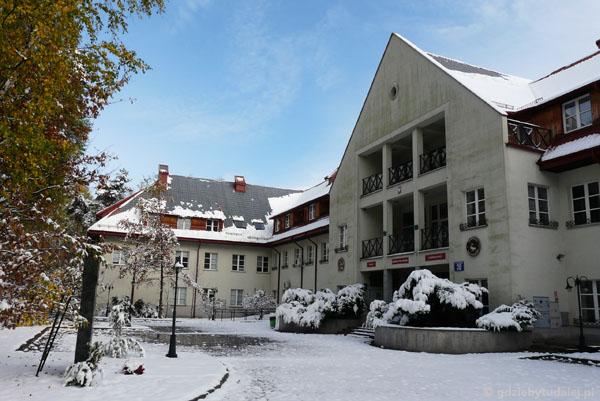 Siedziba dyrekcji Kampinoskiego Parku Narodowego, Izabelin.