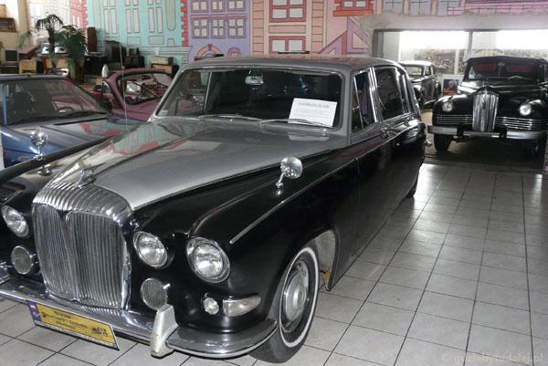 Auto brytyjskiej rodziny królewskiej.