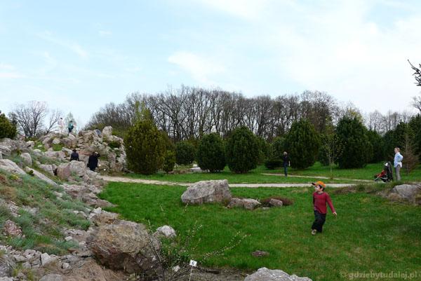 Ogród botaniczny PAN w Powsinie.