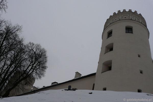 Baszta przemyskiego zamku.