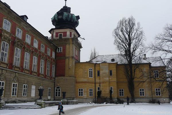 Wczesnobarokowy  (XVII) zamek Lubomirskich w Łańcucie.