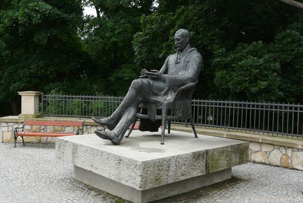 Pomnik Krasińskiego - jedyny w Polsce.