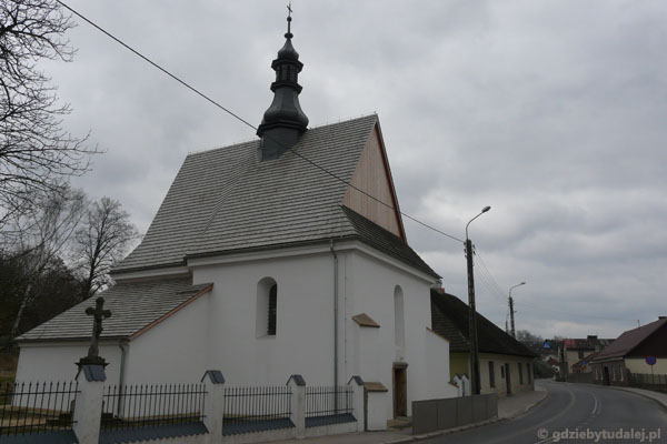 Kościół Św. Ducha (XV w,, przeb.).