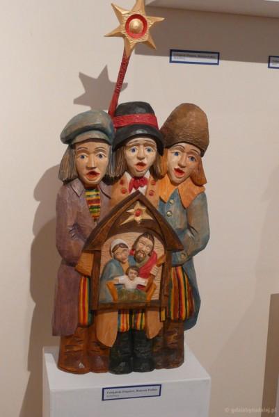 Kolędnicy - twórczość współczesnych łowickich artystów.