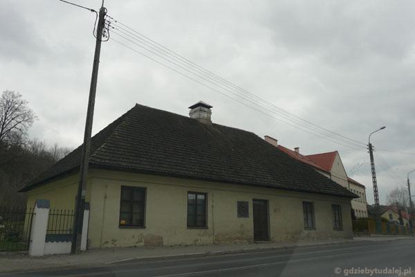 Budynek XVIII-wiecznego szpitala.