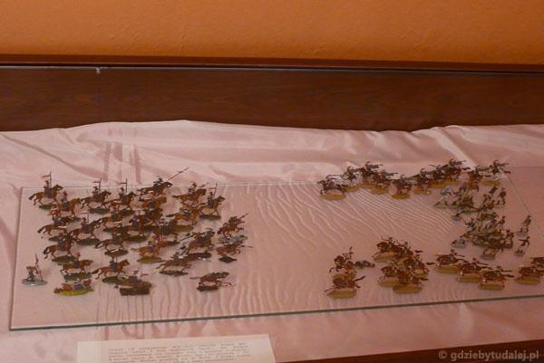Kolekcja ołowianych żołnierzyków.
