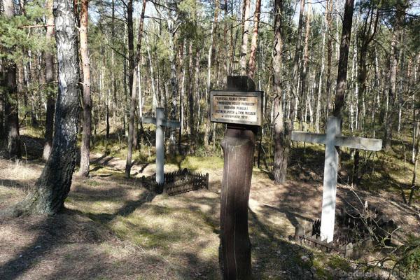 Miejsce straceń więźniów Pawiaka.