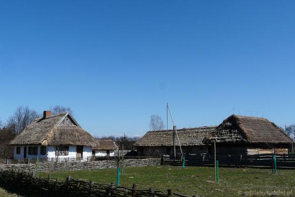 Jedna z zagród w sierpeckim muzeum.