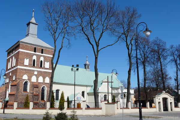 Późnogotycki kościół farny, Sierpc.