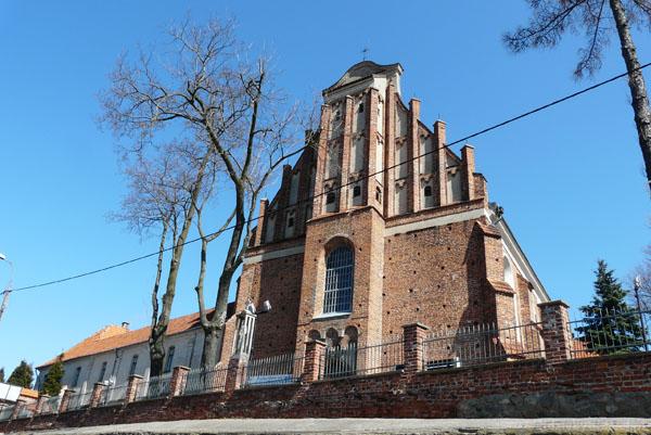Kościół benedyktynek (kon. XV).