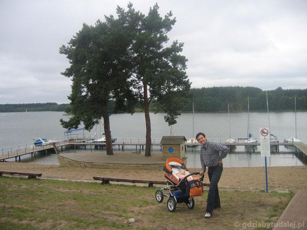 Plaża we Wdzydzach Kiszewskich