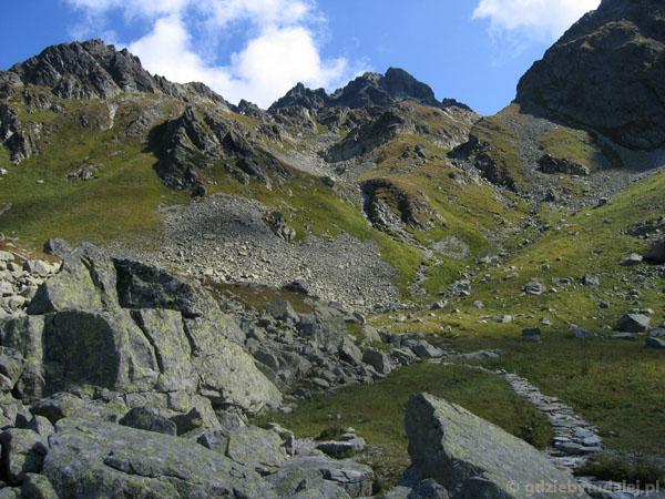 W górę Doliny Litworowej