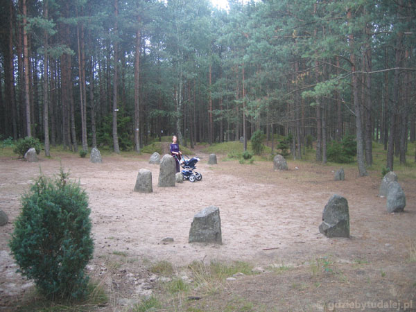 Kamienne kręgi Gotów w Więsiorach - czujemy moc!