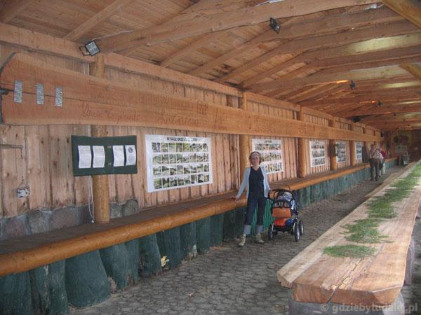 Szymbark - najdłuższa deska świata