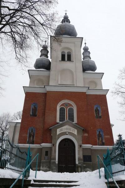 Cerkiew grekokatolicka w Krynicy, XIX w.