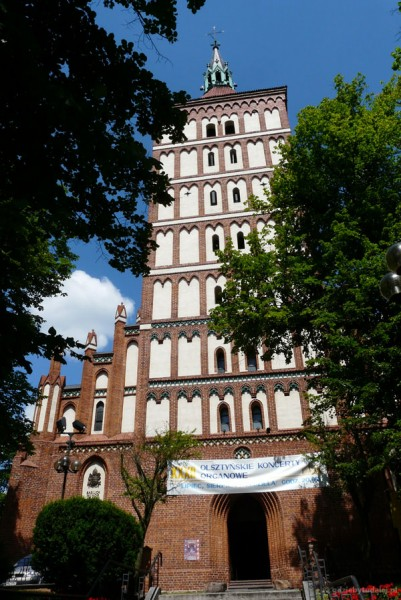Katedra Św. Jakuba, XIV w, Olsztyn.