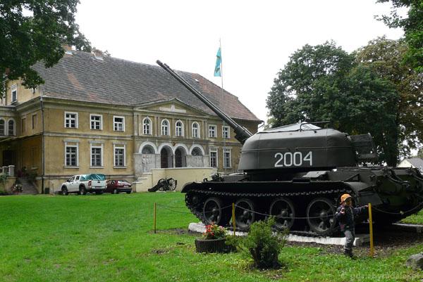 Lubuskie muzeum wojskowe w Drzonowie.