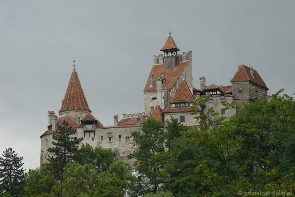 Zamek 'Drakuli' w Branie, XIV w.