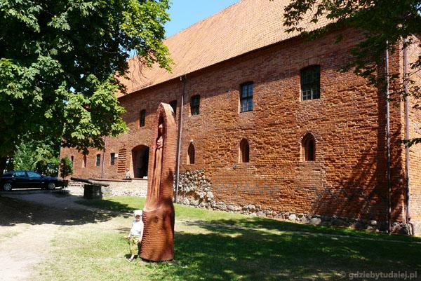 Zamek krzyżacki (XIV w) w Ostródzie.