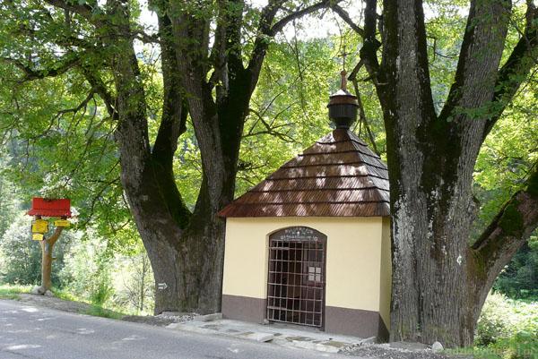 Ździar, kapliczka z XVIII w.