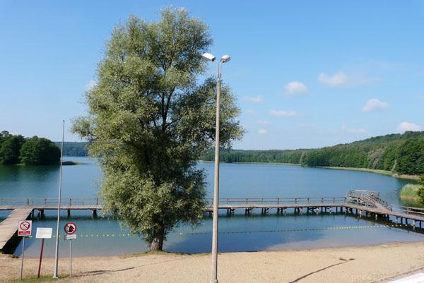 Nasz ośrodek nad Jeziorem Limajno.