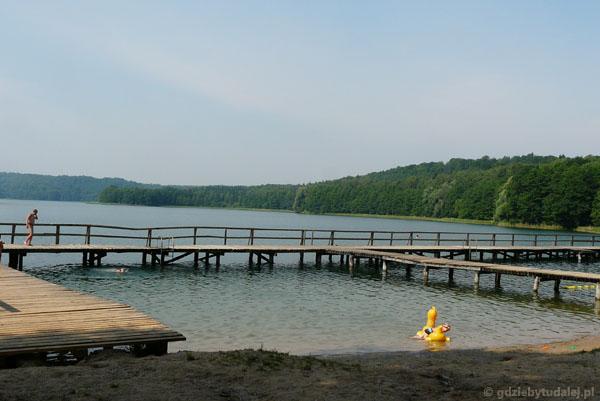 Pożegnanie z jeziorem Limajno.
