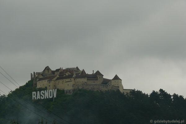Warowny średniow. zamek chłopski, Rasnov.